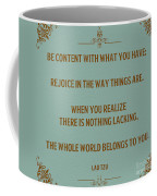 169- Lao Tzu Coffee Mug