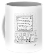 New Yorker August 14th, 2000 Coffee Mug