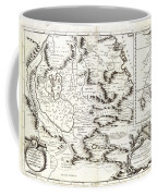 1690 Coronelli Map Of Ethiopia Abyssinia  And The Source Of The Blue Nile Geographicus Abissinia Cor Coffee Mug