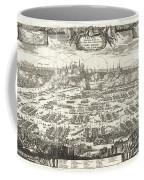 1697 Pufendorf View Of Krakow Cracow Poland Coffee Mug