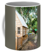 A Backyard Chicken Coop In Austin Coffee Mug