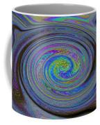 Digital Art Abstract Coffee Mug