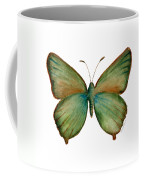 17 Green Hairstreak Butterfly Coffee Mug