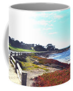 17 Mile Drive Shore Line II Coffee Mug by Barbara Snyder