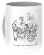 You Can See By Its Smile That This Halibut Coffee Mug