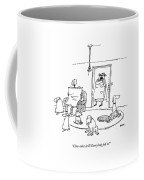 Close-order Drill! Everybody Fall In! Coffee Mug by George Booth