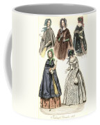 Women's Fashion, 1842 Coffee Mug