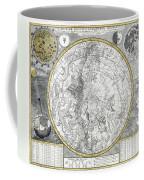 1700 Celestial Planisphere Coffee Mug