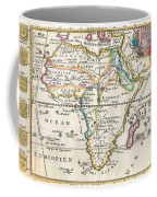 1710 De La Feuille Map Of Africa Coffee Mug