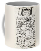 1719 Mallet Map Of The Source Of The Nile Ethiopia Abyssinia Geographicus Nil Mallet 1719 Coffee Mug