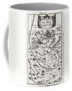 1719 Mallet Map Of The Source Of The Nile Ethiopia Coffee Mug by Paul Fearn