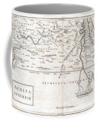 1730 Toms Map Of Central Africa Coffee Mug