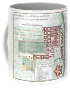 1750 Bellin Map Of Cape Town South Africa Coffee Mug