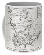 1757 Bellin Map Of South Africa And The Cape Of Good Hope Coffee Mug by Paul Fearn