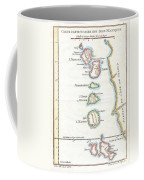 1760 Bellin Map Of The Moluques Coffee Mug