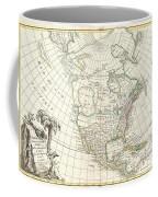 1762 Janvier Map Of North America  Coffee Mug