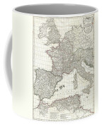 1763 Anville Map Of The Western Roman Empire Coffee Mug