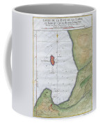1763 Bellin Map Of Cape Town  Coffee Mug