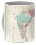 1768 Jeffreys Wall Map Of India And Ceylon Coffee Mug