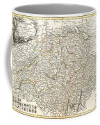 1771 Bonne Map Of Switzerland Coffee Mug
