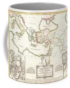 1771 Bonne Map Of The New Testament Lands Holy Land And Jerusalem Coffee Mug