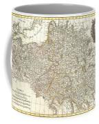 1771 Zannoni Map Of Poland And Lithuania Coffee Mug