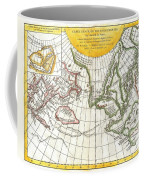 1772 Vaugondy And Diderot Map Of The Pacific Northwest And The Northwest Passage Coffee Mug by Paul Fearn