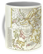 1772 Vaugondy Diderot Map Of Alaska The Pacific Northwest And The Northwest Passage Coffee Mug by Paul Fearn