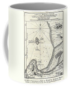 1773 Bellin Map Of The Cape Of Good Hope Capetown South Africa Coffee Mug