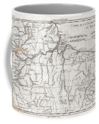 1780 Raynal And Bonne Map Of Northern Brazil Coffee Mug