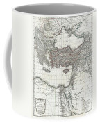 1782 D Anville Map Of The Eastern Roman Empire Coffee Mug