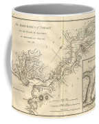 1784 Bocage Map Of The Bosphorus And The City Of Byzantium  Istanbul  Constantinople Coffee Mug