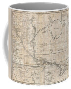 1784 Tiefenthaler Map Of The Ganges And Ghaghara Rivers India Coffee Mug