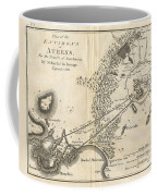 1785 Bocage Map Of Athens And Environs Including Piraeus In Ancient Greece Coffee Mug