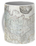 1787 Wall Map Of The Russian Empire Coffee Mug