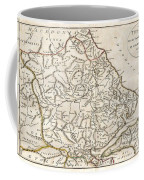 1788 Bocage Map Of Thessaly In Ancient Greece Coffee Mug