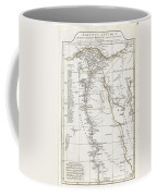 1794 Anville Map Of Ancient Egypt  Coffee Mug