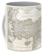 1794 Anville Map Of Asia Minor In Antiquity Coffee Mug