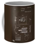 1794 Eli Whitney Cotton Gin Patent 2 Espresso Coffee Mug