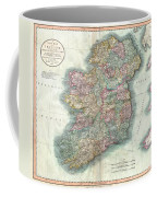 1799 Cary Map Of Ireland  Coffee Mug