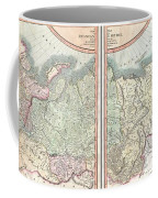 1799 Cary Map Of The Russian Empire Coffee Mug