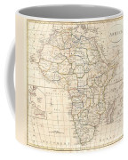 1799 Clement Cruttwell Map Of Africa  Coffee Mug