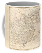 1799 Clement Cruttwell Map Of China Korea And Taiwan Coffee Mug