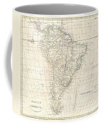 1799 Clement Cruttwell Map Of South America  Coffee Mug
