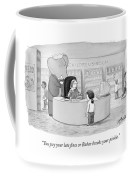 You Pay Your Late Fines Or Babar Breaks Coffee Mug