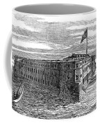 1800s 1860s View Of Fort Taylor Key Coffee Mug