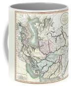 1801 Cary Map Of Persia  Iran Iraq Afghanistan Coffee Mug