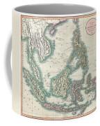 1801 Cary Map Of The East Indies And Southeast Asia  Singapore Borneo Sumatra Java Philippines Coffee Mug