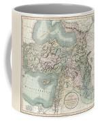1801 Cary Map Of Turkey Iraq Armenia And Sryia Coffee Mug