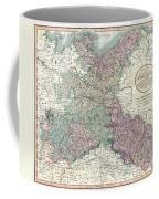 1801 Cary Map Of Upper Saxony Germany  Berlin Dresden Coffee Mug